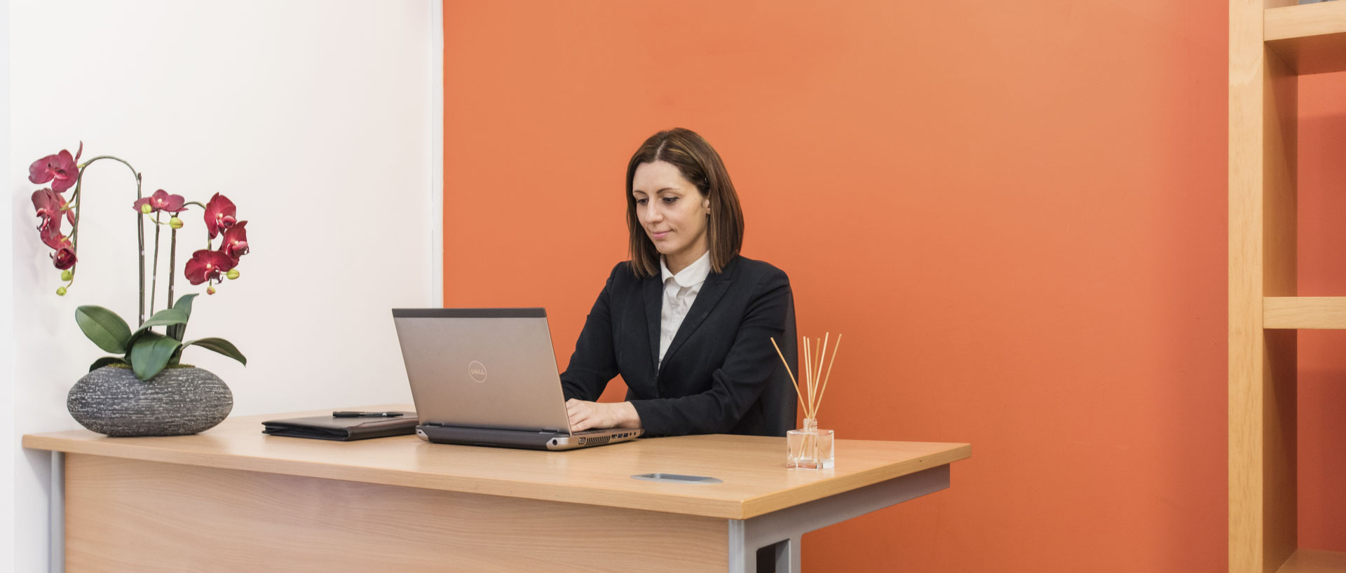 The receptionist working at PREMIER SUITES PLUS Bristol Cabot Circus